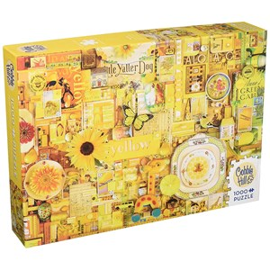 """Cobble Hill (51863) - Shelley Davies: """"Yellow"""" - 1000 pieces puzzle"""