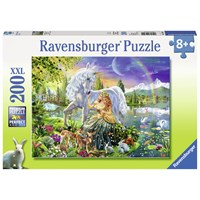 "Ravensburger (12642) - Adrian Chesterman: ""Gathering at Twilight"" - 200 pieces puzzle"