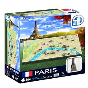 """4D Cityscape (70004) - """"4D Mini Paris"""" - 166 pieces puzzle"""