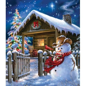 "SunsOut (57148) - Dona Gelsinger: ""Christmas Cheer"" - 550 pieces puzzle"