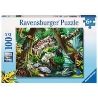 "Ravensburger (10703) - ""Creepy Crawlies"" - 100 pieces puzzle"