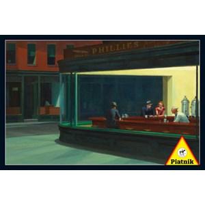 "Piatnik (538445) - Edward Hopper: ""Nighthawks 1942"" - 1000 pieces puzzle"