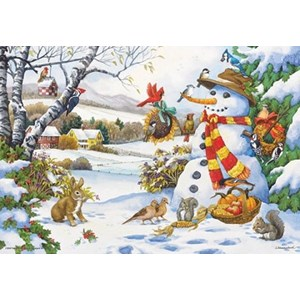 "Anatolian (PER3272) - Nancy Wernersbach: ""Frosty's Gifts"" - 260 pieces puzzle"