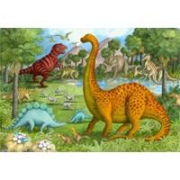 """Ravensburger (05266) - """"Dinosaur Pals"""" - 24 pieces puzzle"""