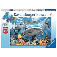 "Ravensburger (09593) - Howard Robinson: ""Caribbean Smile"" - 60 pieces puzzle"