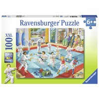 "Ravensburger (10968) - ""Martial Arts Class"" - 100 pieces puzzle"
