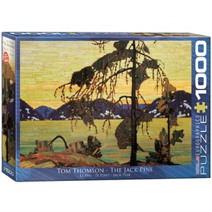 "Eurographics (6000-7166) - Tom Thomson: ""The Jack Pine"" - 1000 pieces puzzle"