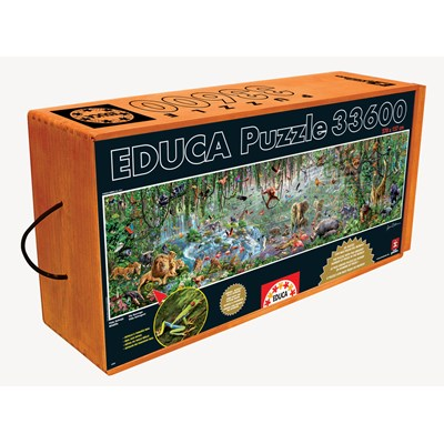 "Educa (16066) - Adrian Chesterman: ""Wildlife"" - 33600 pieces puzzle"