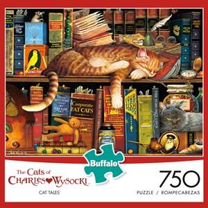 """Buffalo Games (11609) - Kim Norlien: """"Emily's Garden"""" - 1000 pieces puzzle"""