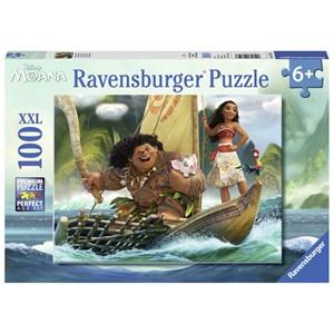 "Ravensburger (10719) - ""Moana and Maui"" - 100 pieces puzzle"