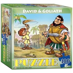 "Eurographics (8100-0347) - ""David & Goliath"" - 100 pieces puzzle"