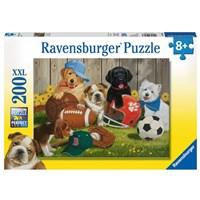 "Ravensburger (12806) - William Vanderdasson: ""Let's Play Ball!"" - 200 pieces puzzle"