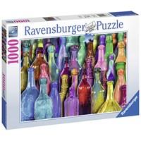 "Ravensburger (19727) - Aimee Stewart: ""Colorful Bottles"" - 1000 pieces puzzle"