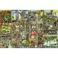 """Ravensburger (17430) - Colin Thompson: """"Bizarre Town"""" - 5000 pieces puzzle"""
