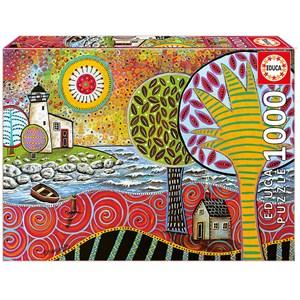 "Educa (17115) - Karla Gerard: ""Lighthouse 1"" - 1000 pieces puzzle"