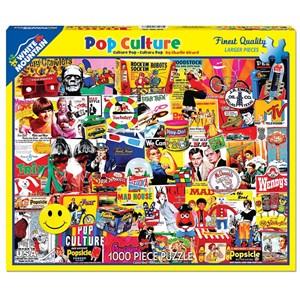 "White Mountain (1148PZ) - Charlie Girard: ""Pop Culture"" - 1000 pieces puzzle"