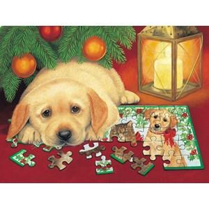 "SunsOut (59406) - Avril Haynes: ""A Puzzle for Christmas"" - 500 pieces puzzle"