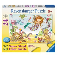 "Ravensburger (05396) - ""Junior Mermaid"" - 24 pieces puzzle"
