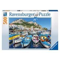 "Ravensburger (14660) - ""Colorful Marina"" - 500 pieces puzzle"