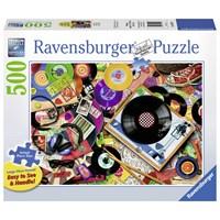"""Ravensburger (14917) - Aimee Stewart: """"Viva le Vinyl"""" - 500 pieces puzzle"""