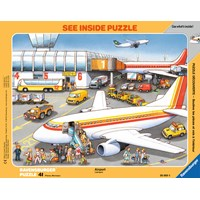 "Ravensburger (06669) - ""At the Airport"" - 41 pieces puzzle"