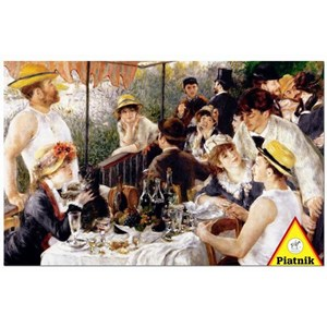 "Piatnik (568145) - Pierre-Auguste Renoir: ""Boating Party"" - 1000 pieces puzzle"