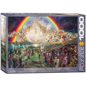 """Eurographics (6000-0361) - Nathan Greene: """"The Blessed Hope"""" - 1000 pieces puzzle"""