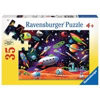 """Ravensburger (08782) - """"Space"""" - 35 pieces puzzle"""