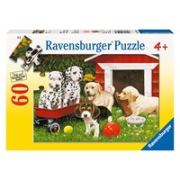 "Ravensburger (09526) - ""Puppy Party"" - 60 pieces puzzle"
