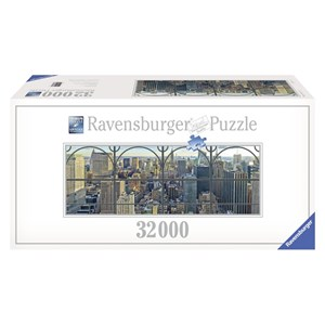 "Ravensburger (17837) - Keith Haring: ""New York City"" - 32000 pieces puzzle"