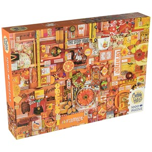 """Cobble Hill (51862) - Shelley Davies: """"Orange"""" - 1000 pieces puzzle"""