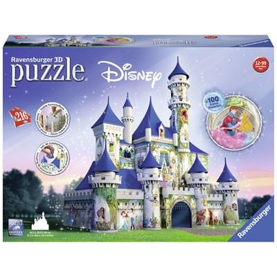 """Ravensburger (12510) - """"Disney Castle"""" - 216 pieces puzzle"""