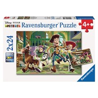 """Ravensburger (08874) - """"The Toys at Day Care"""" - 24 pieces puzzle"""