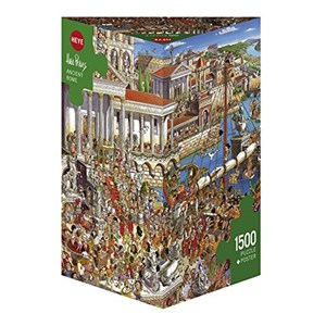 "Heye (29791) - Hugo Prades: ""Ancient Rome"" - 1500 pieces puzzle"