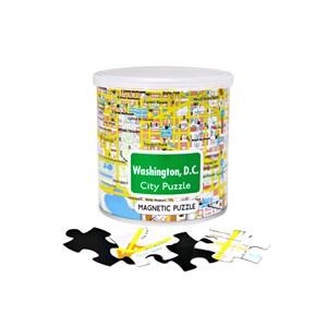 "Geo Toys (GEO 239) - ""City Magnetic Puzzle Washington DC"" - 100 pieces puzzle"