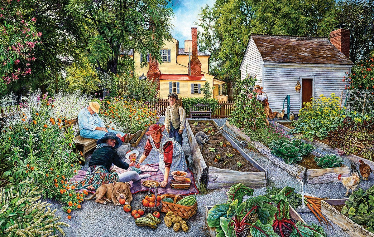 Sunsout 2019 The Warm Scent of Home by Artist Susan Brabeau 1000 Piece Christmas Jigsaw Puzzle