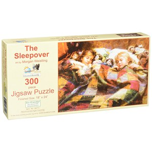 """SunsOut (26711) - Morgan Weistling: """"The Sleepover"""" - 300 pieces puzzle"""