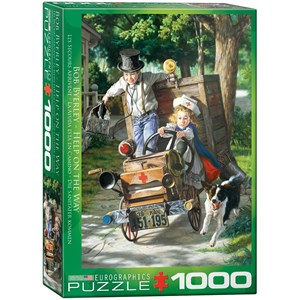 """Eurographics (6000-0439) - Bob Byerley: """"Help on the Way"""" - 1000 pieces puzzle"""
