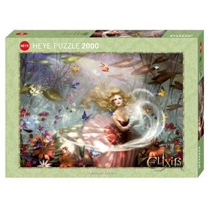 "Heye (29782) - Melanie Delon: ""Make a Wish!"" - 2000 pieces puzzle"