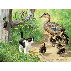 """SunsOut (51917) - Persis Clayton Weirs: """"Duck Inspector"""" - 500 pieces puzzle"""