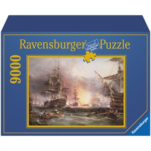 "Ravensburger (17806) - ""Bombardment of Algiers"" - 9000 pieces puzzle"