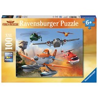 "Ravensburger (10537) - ""Fighting the Fire"" - 100 pieces puzzle"