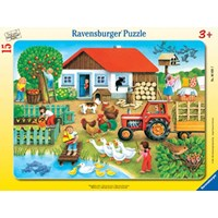"Ravensburger (06020) - ""Where to Put it"" - 15 pieces puzzle"