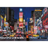 "Ravensburger (19208) - ""Times Square, NYC"" - 1000 pieces puzzle"