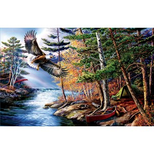 """SunsOut (28480) - James Meger: """"Freedom Waters"""" - 1000 pieces puzzle"""