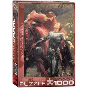 "Eurographics (6000-0147) - Frank Dicksee: ""Sir Frank Bernard Dicksee"" - 1000 pieces puzzle"