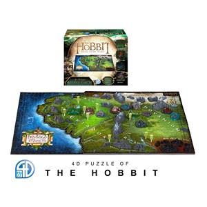 """4D Cityscape (51100) - """"4D Hobbit Middle Earth"""" - 1390 pieces puzzle"""