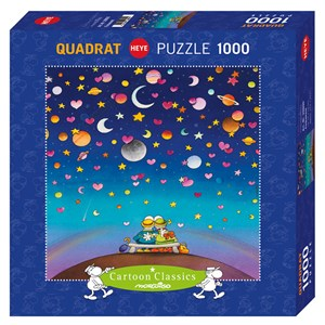 "Heye (29800) - Guillermo Mordillo: ""Firmament"" - 1000 pieces puzzle"