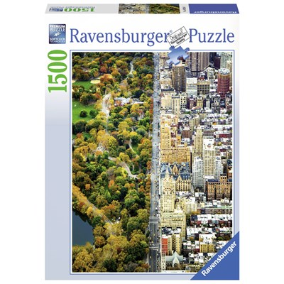 "Ravensburger (16254) - ""Divided Town"" - 1500 pieces puzzle"
