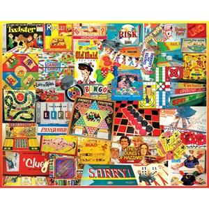 "White Mountain (924PZ) - Lois B. Sutton: ""Games We Played"" - 1000 pieces puzzle"